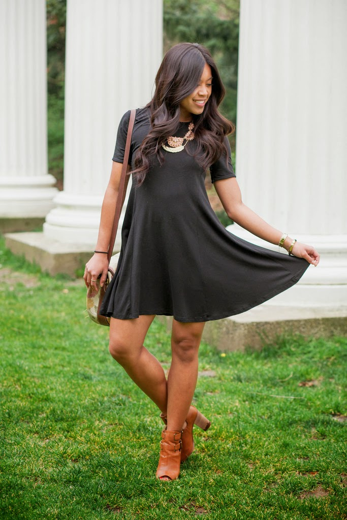 The Little Black Dress with a Statement