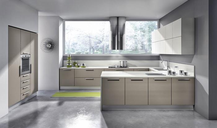 Dise o con pen nsula una alternativa muy pr ctica cocinas con estilo - Cocinas en u modernas ...