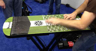 string keyboard device NAMM 2012 from Bobby Owsinski's Big Picture production blog