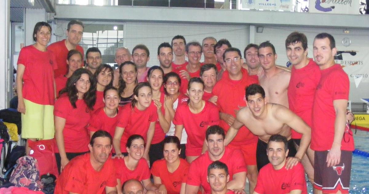 Masters club nataci n castalia castell n costa azahar campeonato autonomico master - Piscina olimpica castellon ...