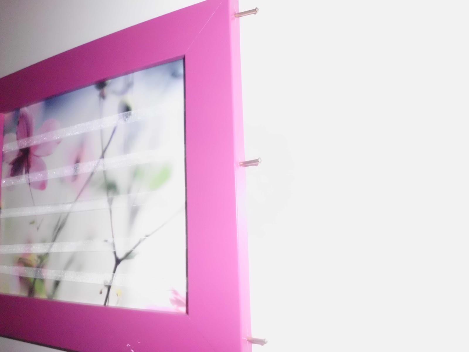 kristallzauber diy ohrring bilderrahmen selbermachen. Black Bedroom Furniture Sets. Home Design Ideas