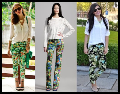 ESTAMPA TROPICAL OU TROPICAL PRINT