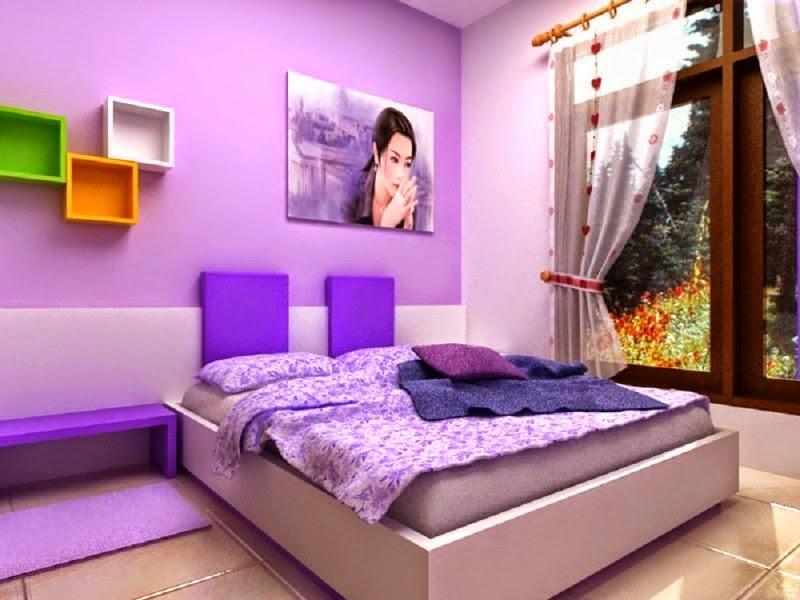 Warna kamar minimalis modern 2015 terbaru