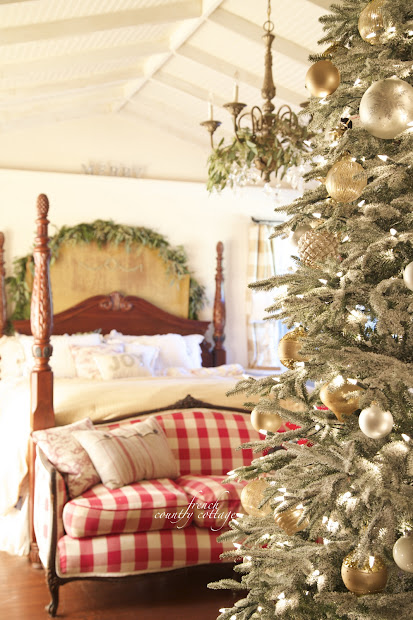 French Country Cottage Christmas