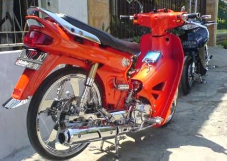 Modifikasi Honda Grand Astrea Ceper
