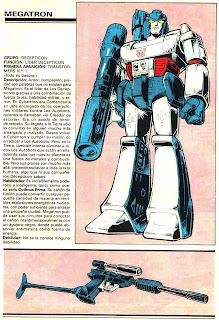 Megatron (ficha transformers)