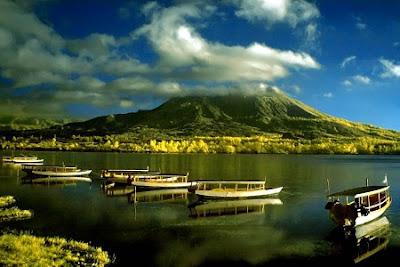 Gunung Batur Dan Danau Kaldera