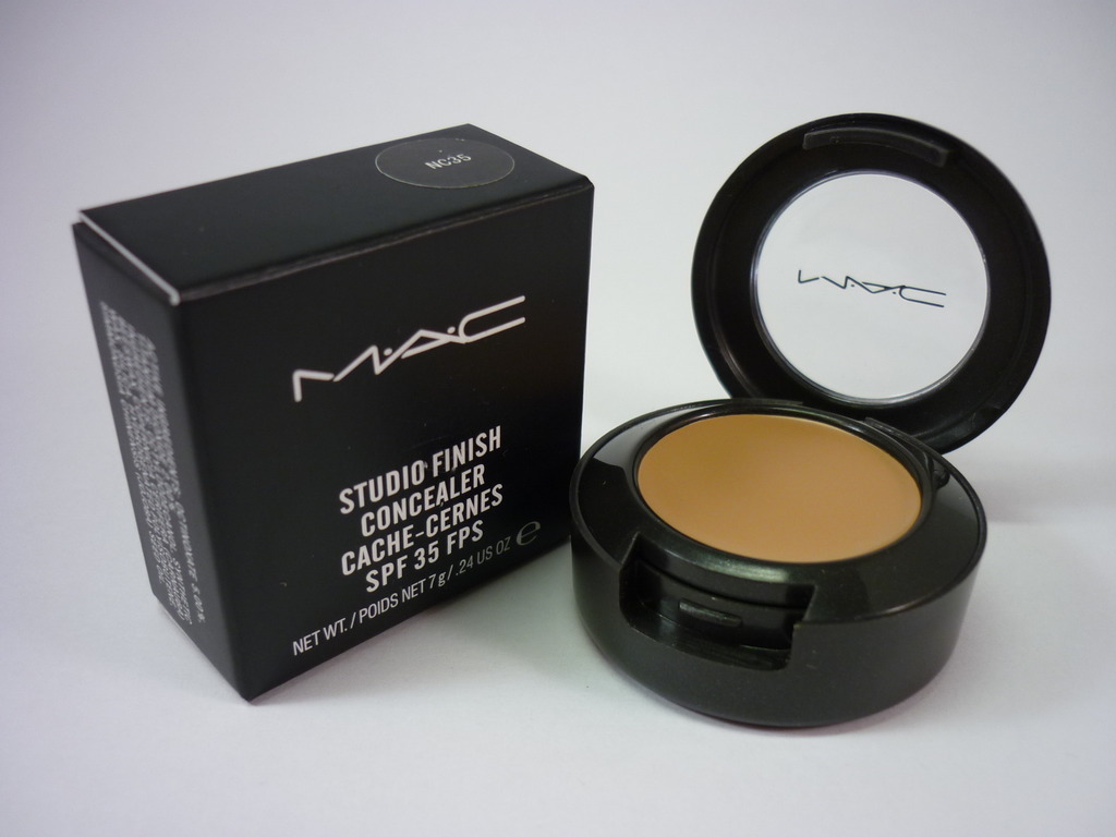 MAC Concealer Review? : Prolong wear, Studio Finish, Select ...