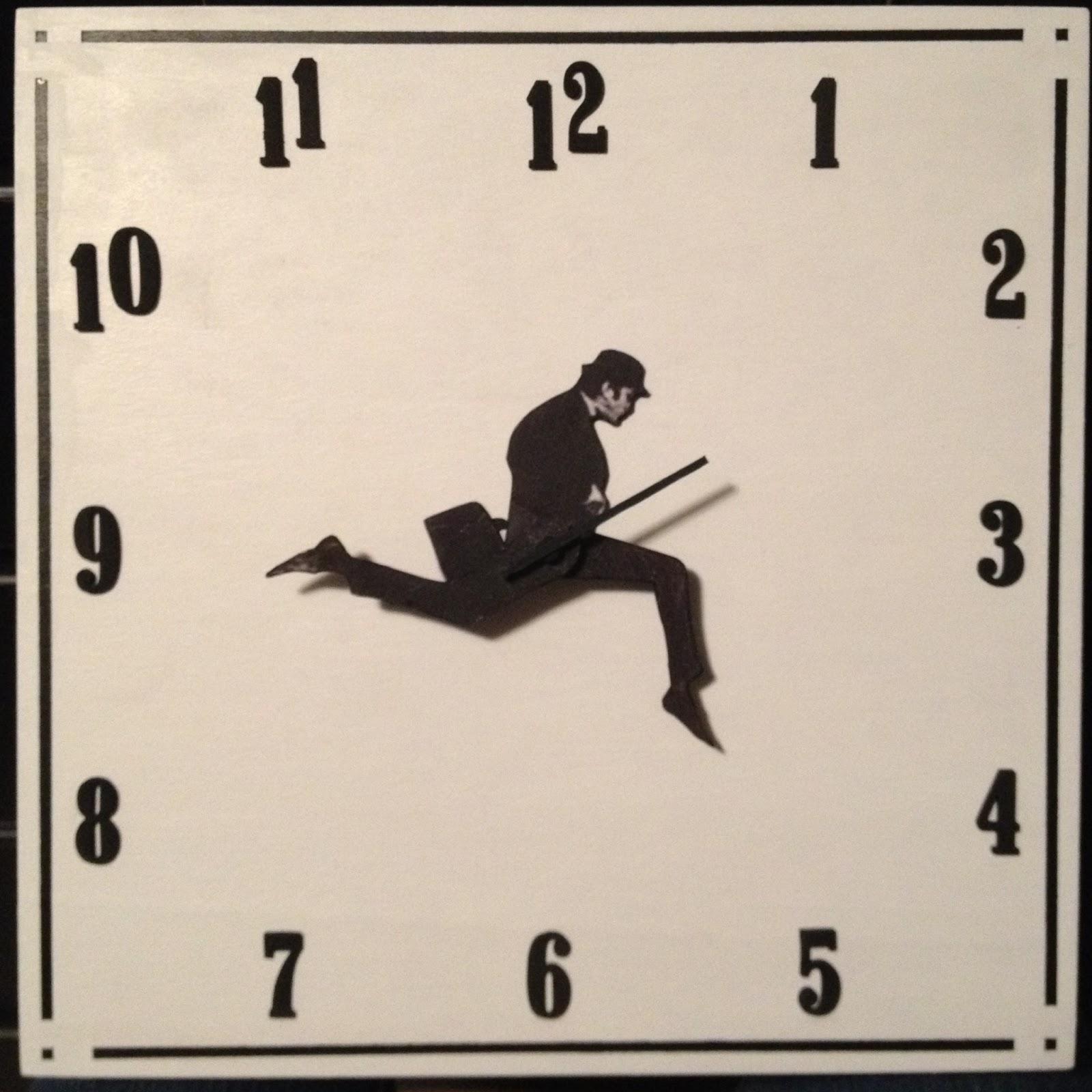 DIY Silly Walk Clock