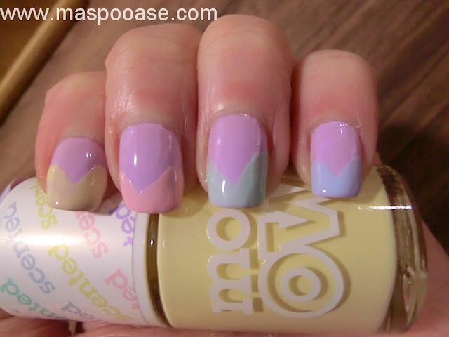 Models Own Fruit Pastel nail art