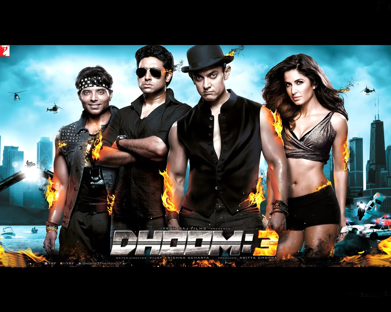 Dhoom 3 Latest Full HD Posters Love - Images of love