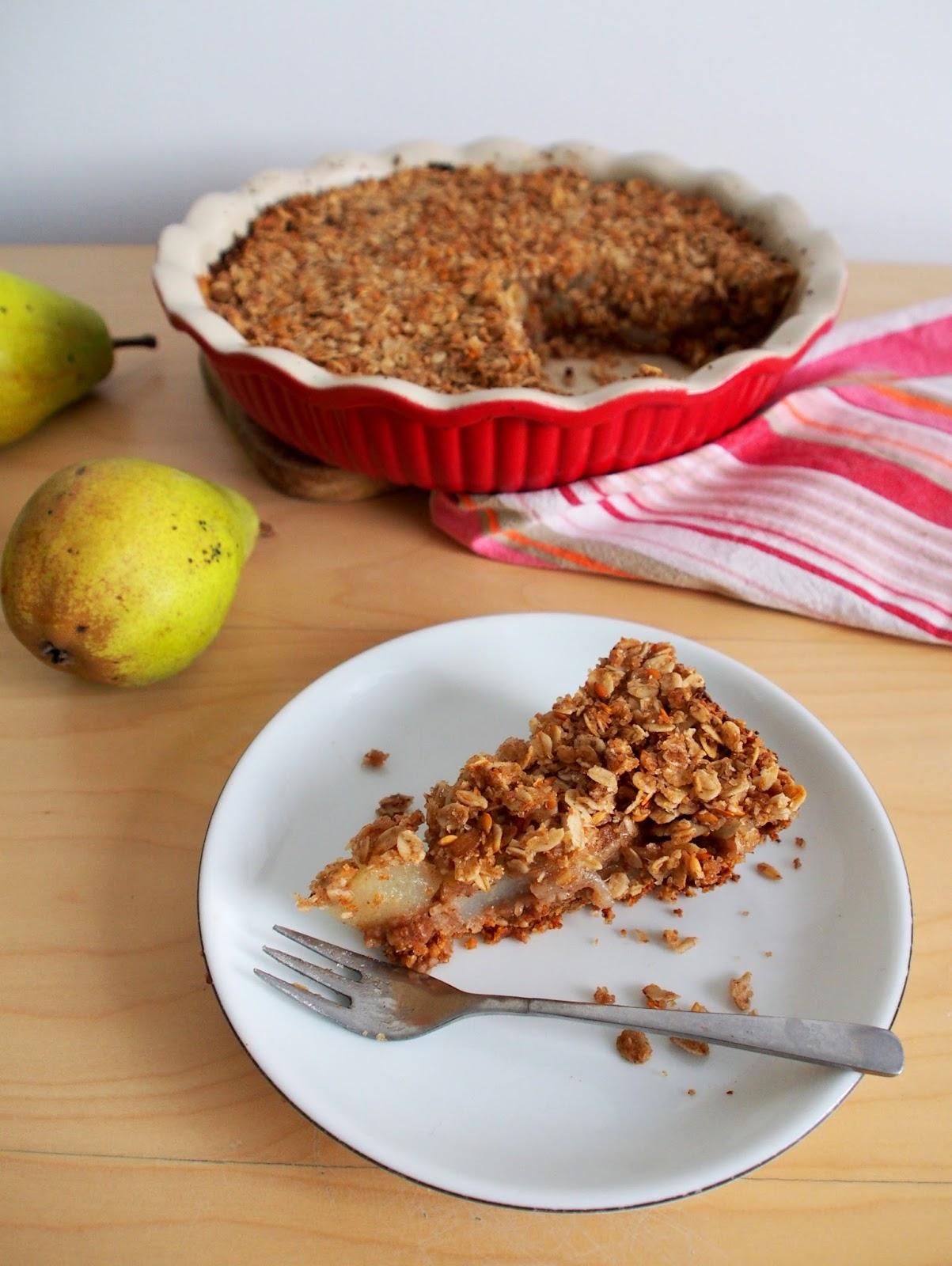 Recipe: Vegan Pear Pie.