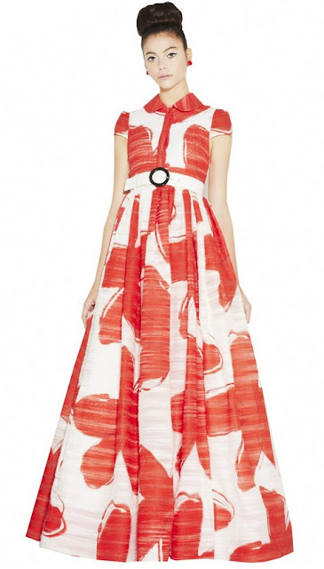 Alice + Olivia long dress, Alice + Olivia Sia gown