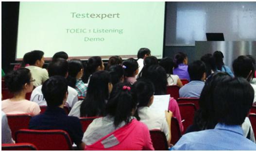 Lớp học thử toeic offline tại TestExpert VN
