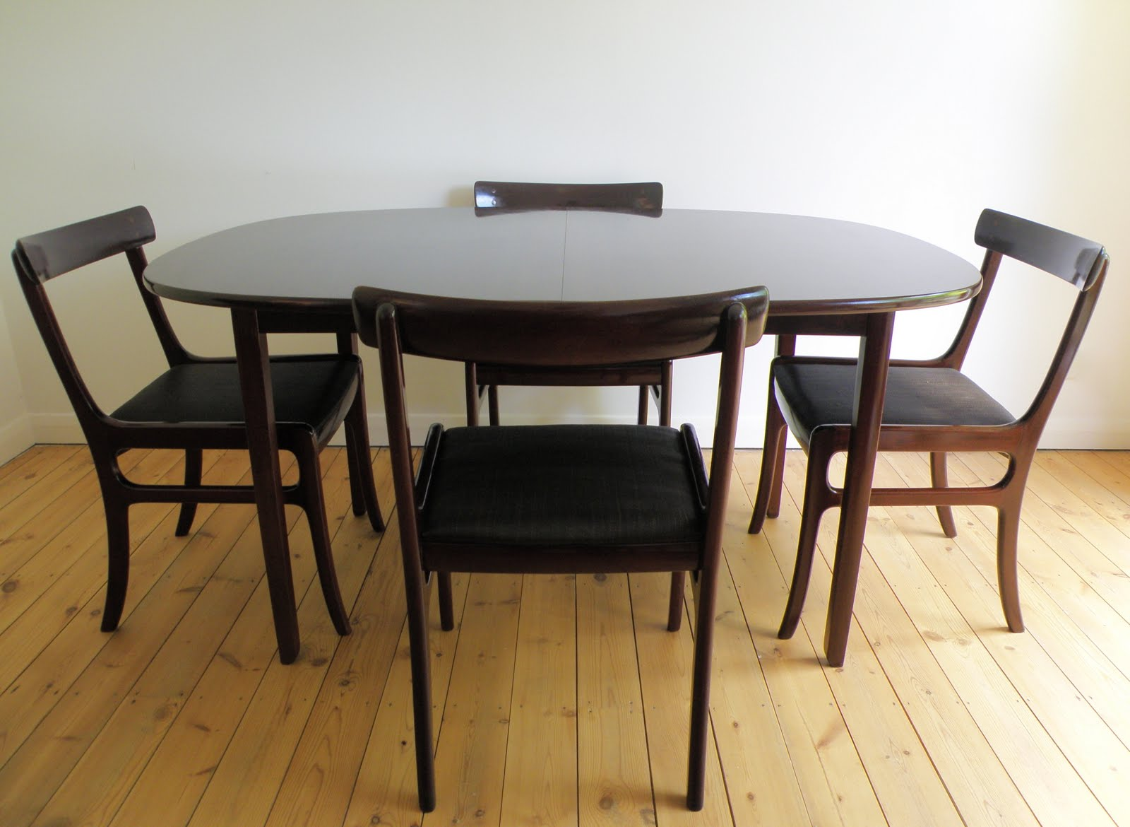 Antikmodern the shop ole wanscher rungstedlund dining table for P jeppesen furniture