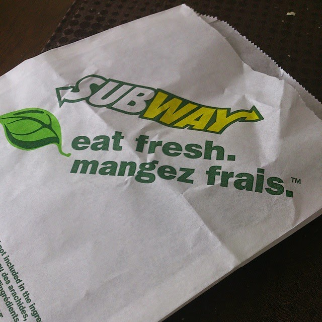 J'ai testé les deux nouveaux sandwich Subway #FringaleSubway
