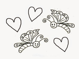 Cartoon Butterfly Coloring Pages To Print