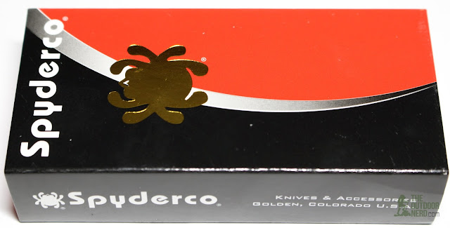 Spyderco Orange Dragonfly EDC Pocket Knife - Box 1