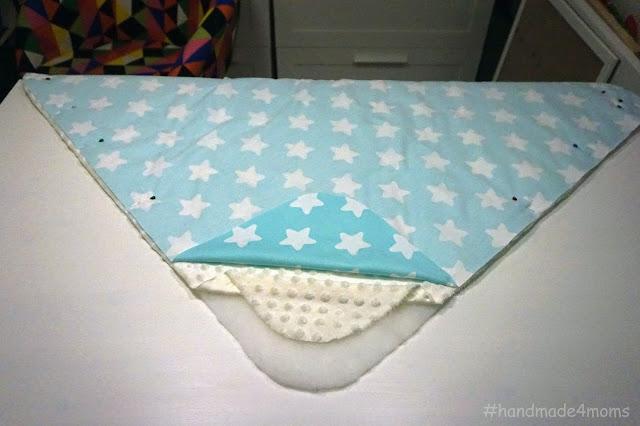 Как сделать одеяло для ребенка