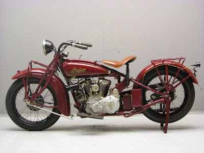 Original Look of Indian Scout 101