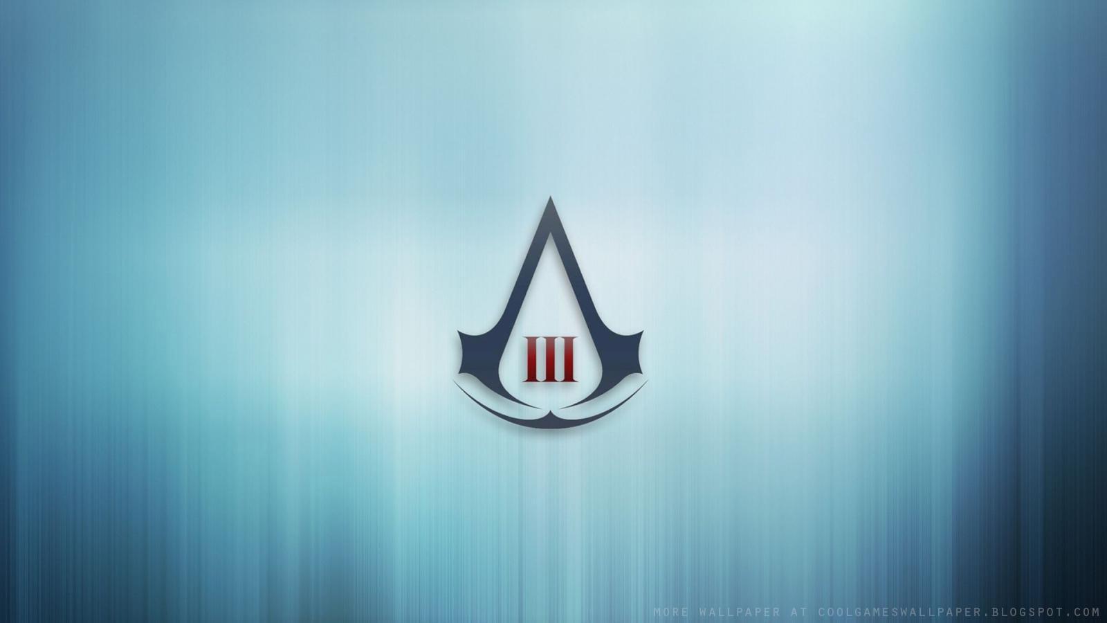 Assassins Creed 3 Logo Wallpaper
