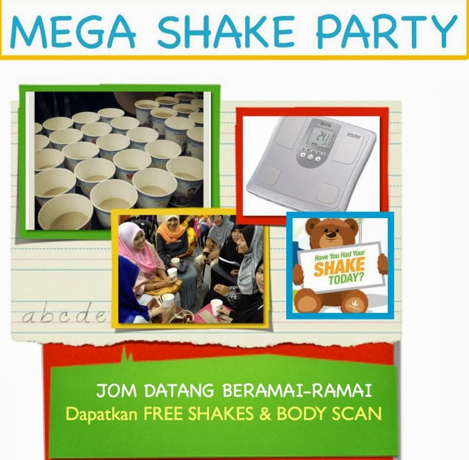 Free Shake dan Body Scan