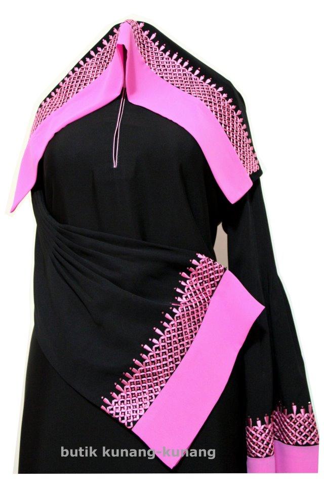 Butik Kunang-Kunang Abayat Qatar Abaya A028