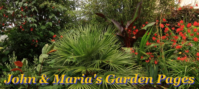 John & Maria's Garden Pages