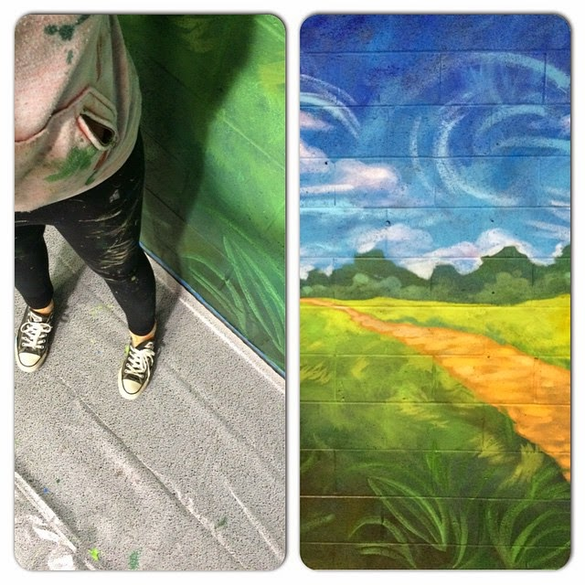 portland muralist, murals in portland oregon, portland mural artist