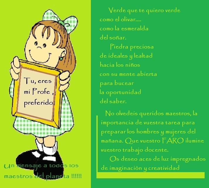 Poemas Para Las Maestras