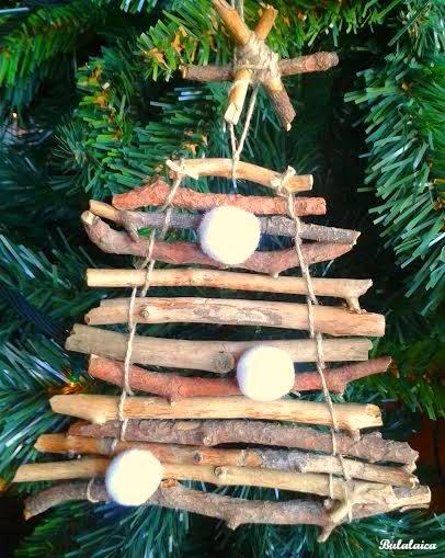 DIY: Arbolito de Navidad con palos