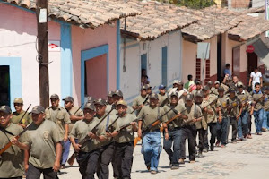 Spreading civilian militias suggest a failed state in Michoacán