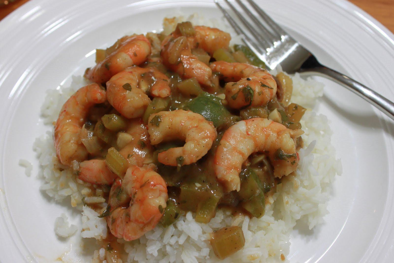 Domestic Revolt: Shrimp Etouffee