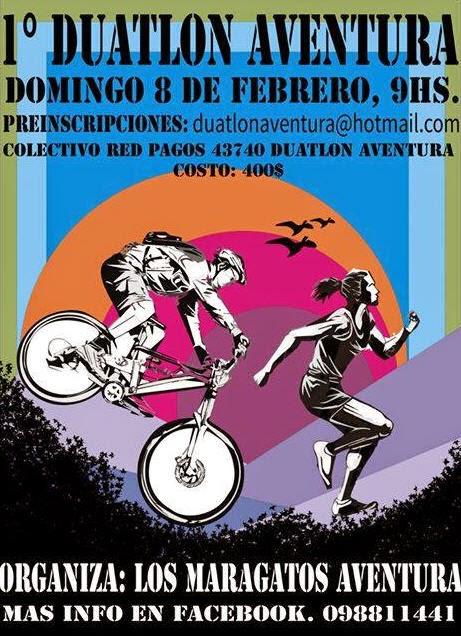 Duatlón Aventura en San José de Mayo (08/feb/2015)