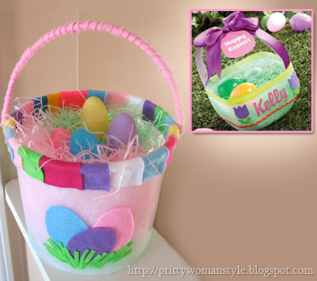 Великденска кошничка за яйца от кофичка или туба