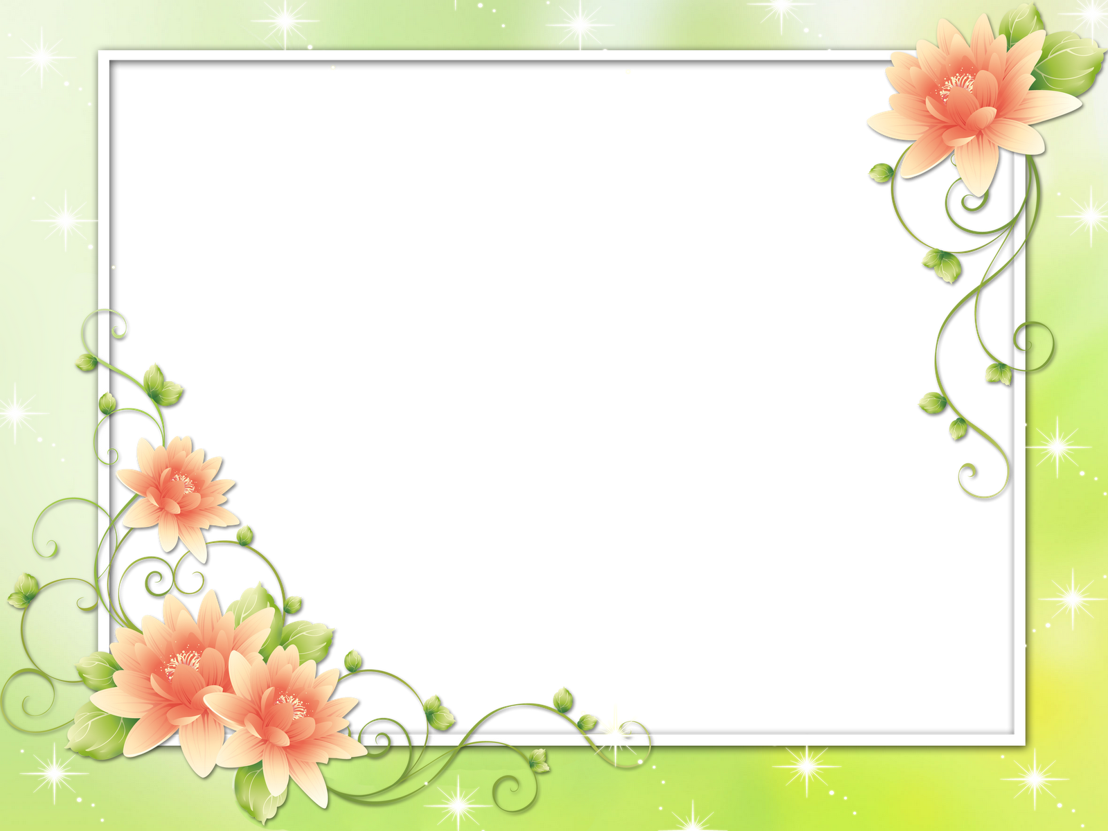 Video Description:  Floral Frames Flower Clip Art Flower Corner