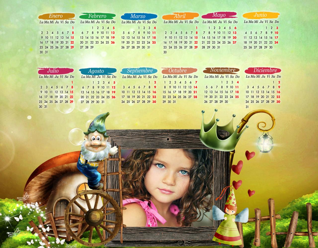 Calendarios 2012 personalizados con la foto que mas te guste, de tus ...