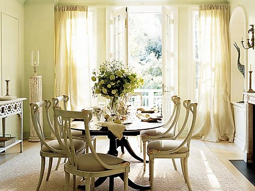 Elegant dining room ideas home interior designs and for Elegant dining room decor