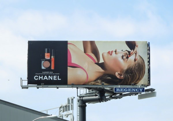Chanel Summer 2014 makeup billboard