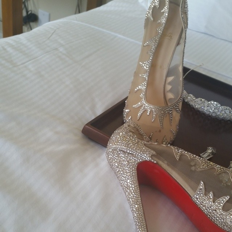 archive cinderella wedding shoes Christian Louboutin Branded Selection of Bridal Shoes