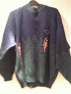 Vintage Christmas Jumper from the Vintage Kilo Sale at Bethnal Green