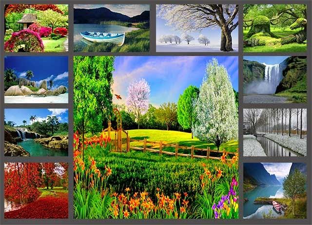 Fondos lisos para fotomontajes fondos hd para for 3d jardin torrent