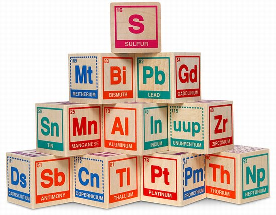 8 creative periodic tables mental floss periodic table building blocks are designed for science students from one to three years old although adults love them as well the twenty blocks contains urtaz Images