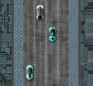 lojra me makina futuristike
