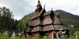 gereja unik norwegia