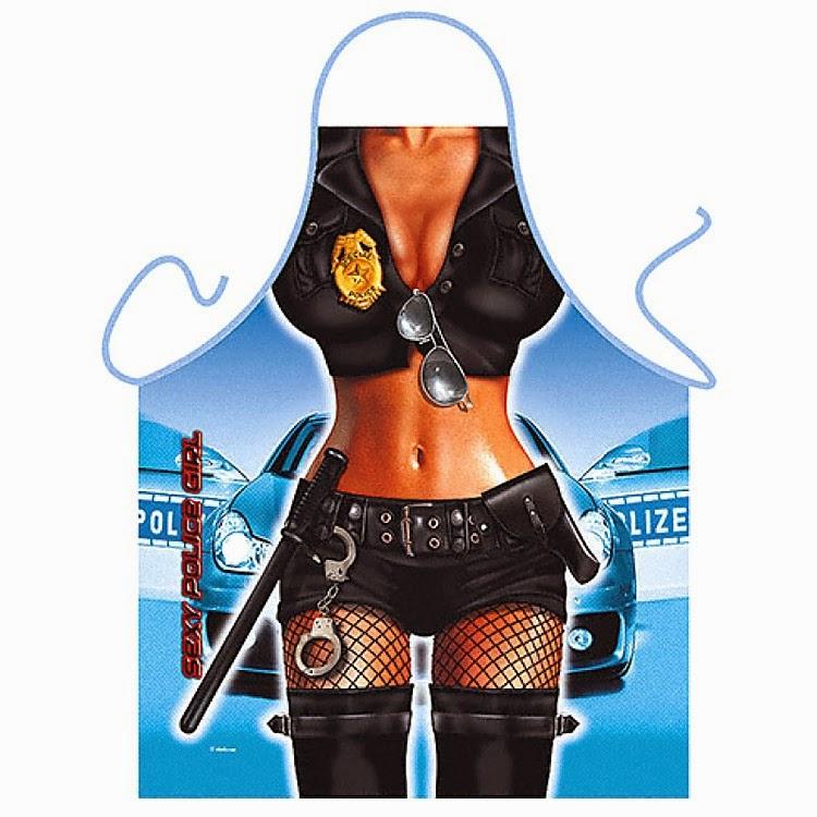 Delantal Mujer Policía Sexy