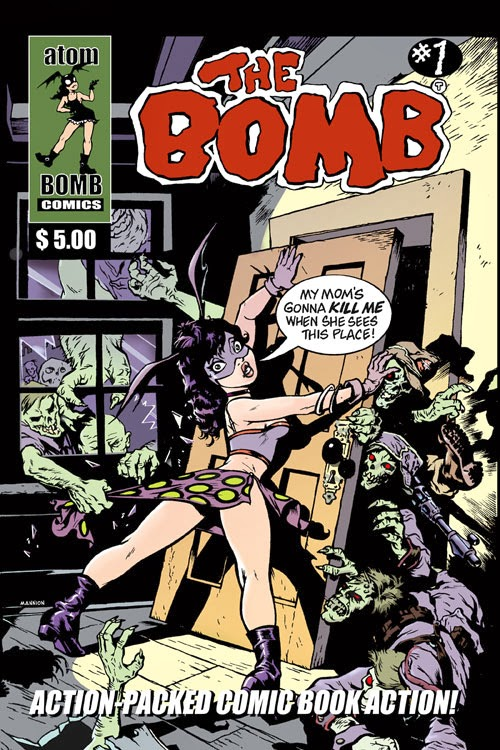 KABLAAM BOMB COMICS!