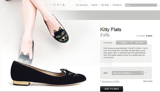 The Singing SunflowerDIYCharlotte Olympias Inspired Kitty Flat
