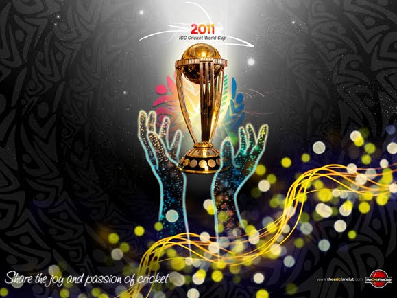 ICC CRICKET WORLD CUP 2011 VECTOR LOGO cricket World Cup 2011 vector