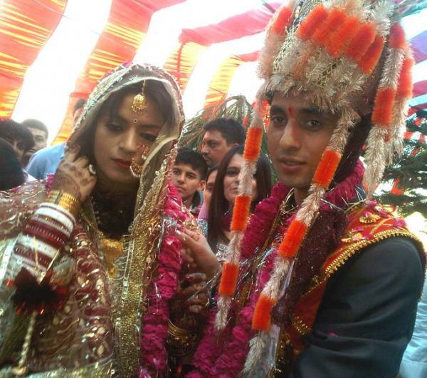 Kangna sister wedding